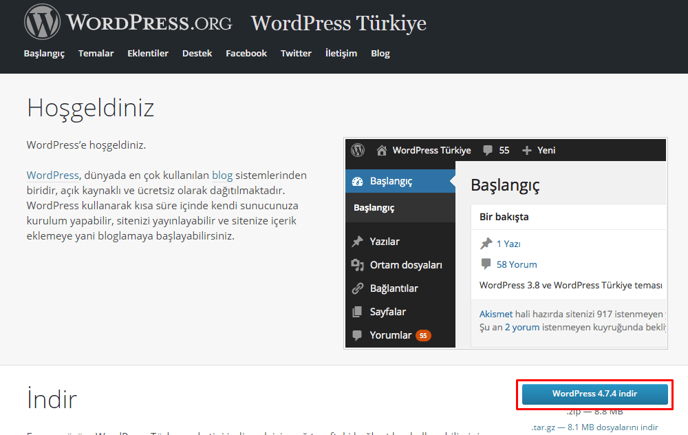 wordpress-ftp-kurulumu