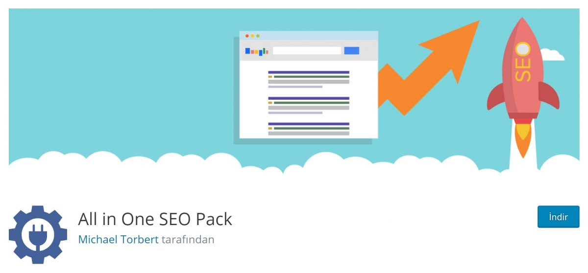 All In One SEO Pack; Google AMP ve Google Analytics desteğine sahip.